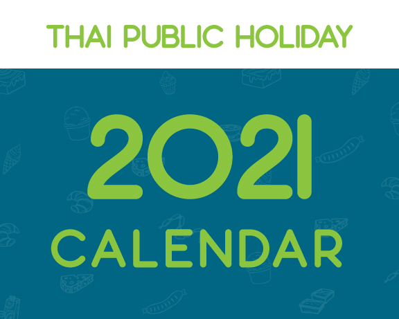 2021 Thai Public Holiday